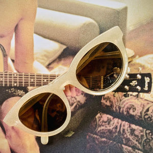 MADEWELL Milky Glitter Sunglasses